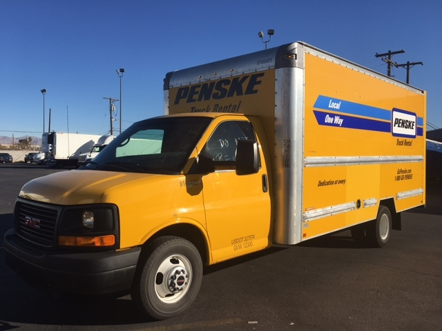 Light Duty Box Truck-Light and Medium Duty Trucks-GMC-2014-Savana G33903-LAS VEGAS-NV-131,629 miles-$16,250