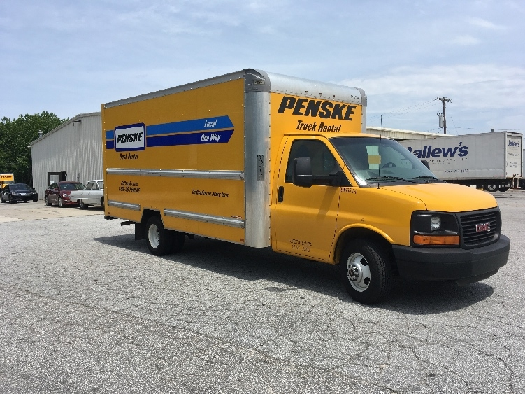 Light Duty Box Truck-Light and Medium Duty Trucks-GMC-2014-Savana G33903-GREER-SC-116,664 miles-$18,250