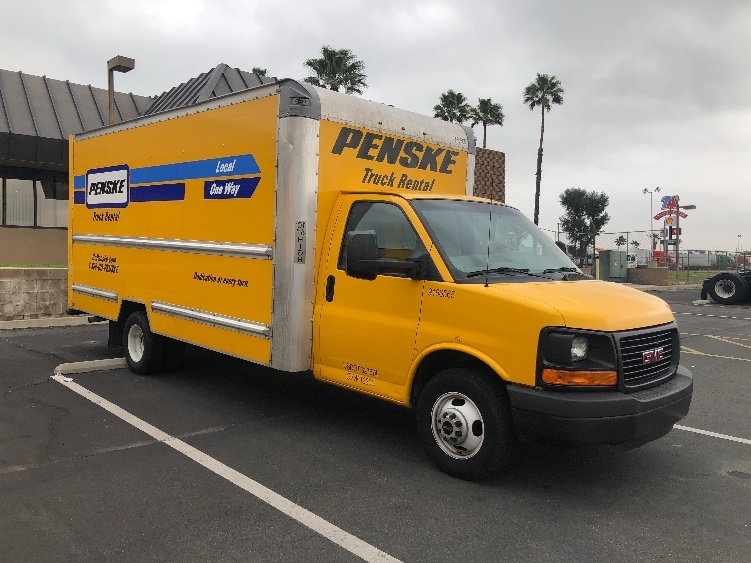 Light Duty Box Truck-Light and Medium Duty Trucks-GMC-2014-Savana G33903-CORONA-CA-176,621 miles-$10,500