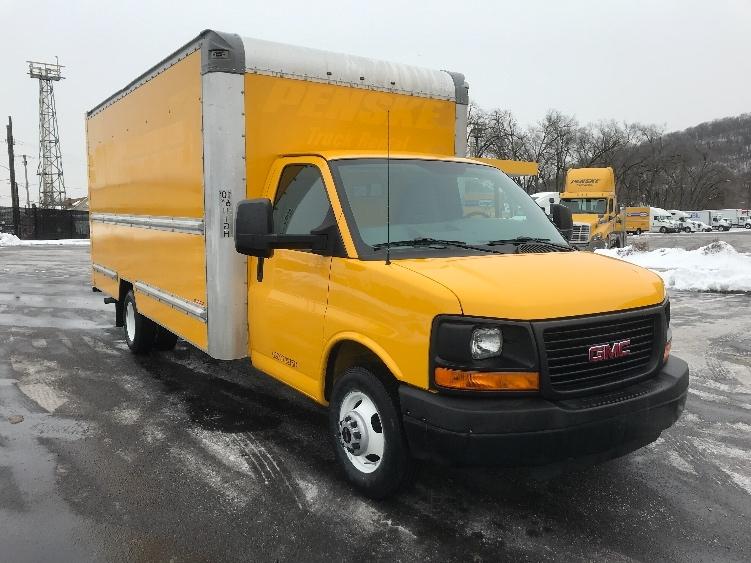 Light Duty Box Truck-Light and Medium Duty Trucks-GMC-2014-Savana G33903-PITTSBURGH-PA-80,843 miles-$21,250