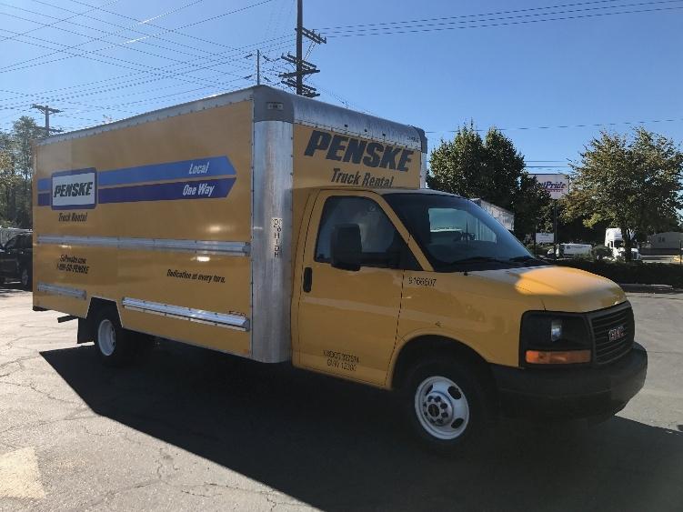 Light Duty Box Truck-Light and Medium Duty Trucks-GMC-2014-Savana G33903-PORTLAND-OR-129,544 miles-$15,500