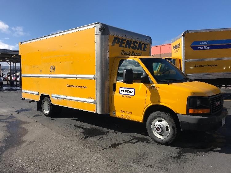 Light Duty Box Truck-Light and Medium Duty Trucks-GMC-2014-Savana G33903-HAYWARD-CA-74,606 miles-$19,500