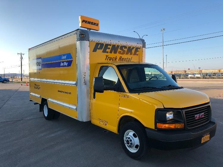 Light Duty Box Truck-Light and Medium Duty Trucks-GMC-2014-Savana G33903-DALLAS-TX-83,208 miles-$21,000