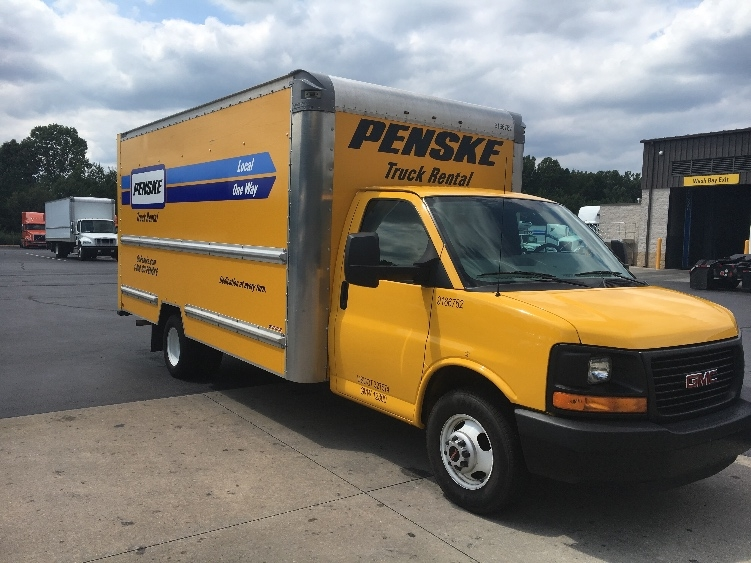 Light Duty Box Truck-Light and Medium Duty Trucks-GMC-2014-Savana G33903-WINSTON SALEM-NC-111,656 miles-$17,000