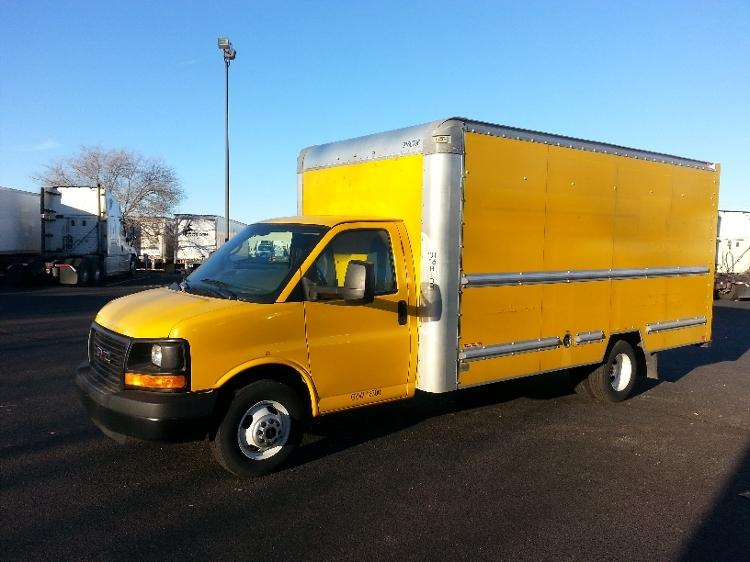 Light Duty Box Truck-Light and Medium Duty Trucks-GMC-2014-Savana G33903-ROSEVILLE-MN-124,003 miles-$16,500
