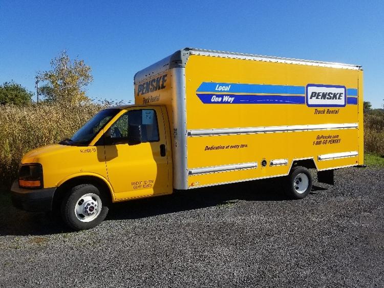 Light Duty Box Truck-Light and Medium Duty Trucks-GMC-2014-Savana G33903-WATERTOWN-NY-124,984 miles-$15,750
