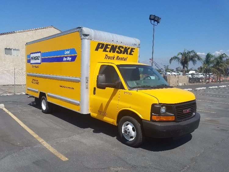 Light Duty Box Truck-Light and Medium Duty Trucks-GMC-2014-Savana G33903-FONTANA-CA-124,473 miles-$16,750