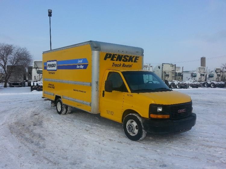 Light Duty Box Truck-Light and Medium Duty Trucks-GMC-2014-Savana G33903-ROSEVILLE-MN-102,331 miles-$19,000