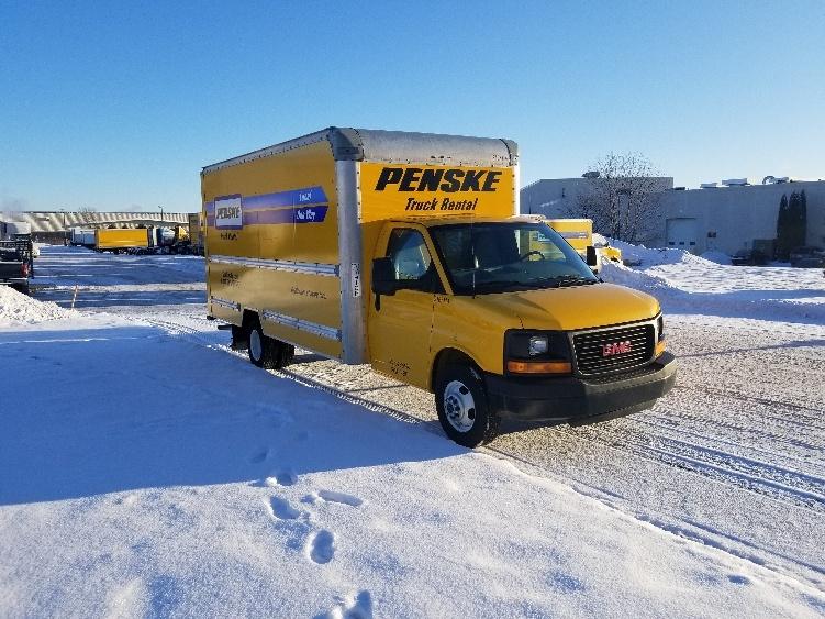 Light Duty Box Truck-Light and Medium Duty Trucks-GMC-2014-Savana G33903-DE PERE-WI-77,642 miles-$18,250