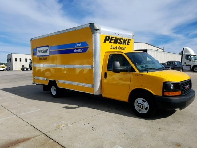 Light Duty Box Truck-Light and Medium Duty Trucks-GMC-2014-Savana G33903-HOMEWOOD-AL-84,394 miles-$20,750