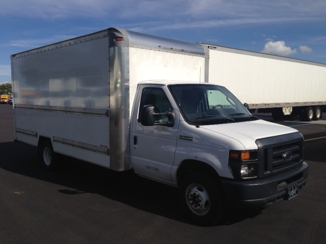 Light Duty Box Truck-Light and Medium Duty Trucks-Ford-2014-E350-ROMEOVILLE-IL-77,428 miles-$16,000