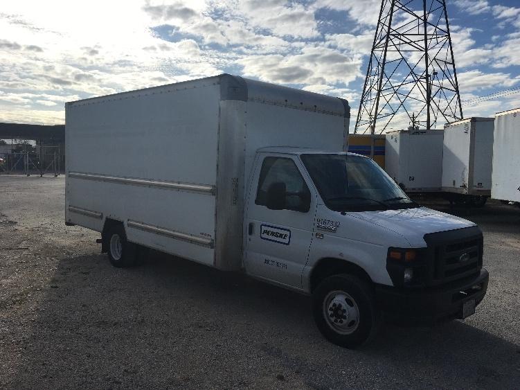 Light Duty Box Truck-Light and Medium Duty Trucks-Ford-2014-E350-HOUSTON-TX-81,452 miles-$19,750