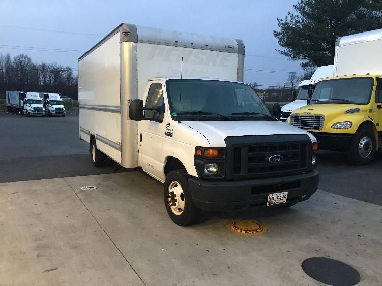Light Duty Box Truck-Light and Medium Duty Trucks-Ford-2014-E350-BALTIMORE-MD-111,929 miles-$17,750