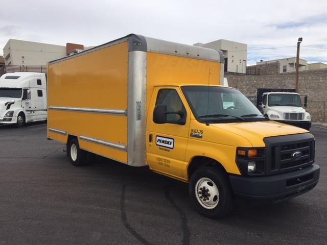Light Duty Box Truck-Light and Medium Duty Trucks-Ford-2014-E350-SANTA ROSA-CA-123,786 miles-$17,000
