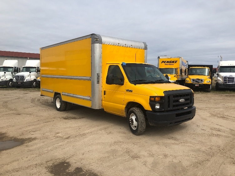 Light Duty Box Truck-Light and Medium Duty Trucks-Ford-2014-E350-SPOKANE VALLEY-WA-117,695 miles-$15,750