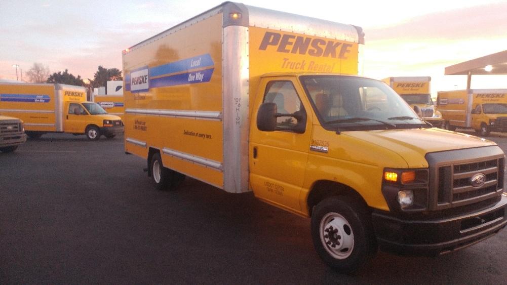 Light Duty Box Truck-Light and Medium Duty Trucks-Ford-2014-E350-AURORA-CO-108,785 miles-$17,500