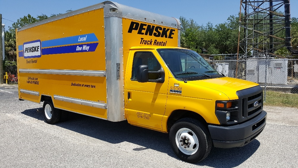 Light Duty Box Truck-Light and Medium Duty Trucks-Ford-2014-E350-TAMPA-FL-75,833 miles-$21,500