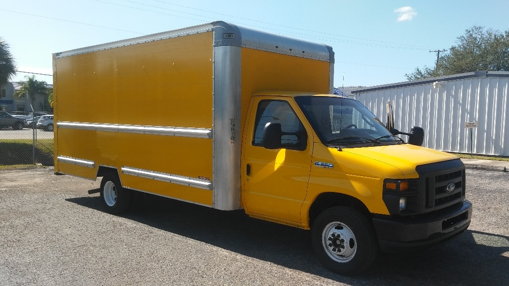Light Duty Box Truck-Light and Medium Duty Trucks-Ford-2014-E350-WEST VALLEY CITY-UT-137,099 miles-$15,250