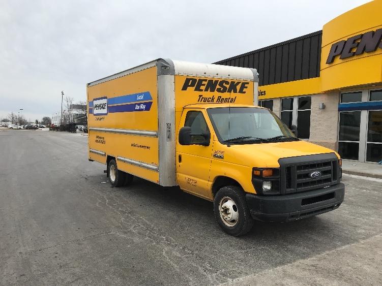 Light Duty Box Truck-Light and Medium Duty Trucks-Ford-2014-E350-ELK GROVE VILLAGE-IL-67,064 miles-$22,250