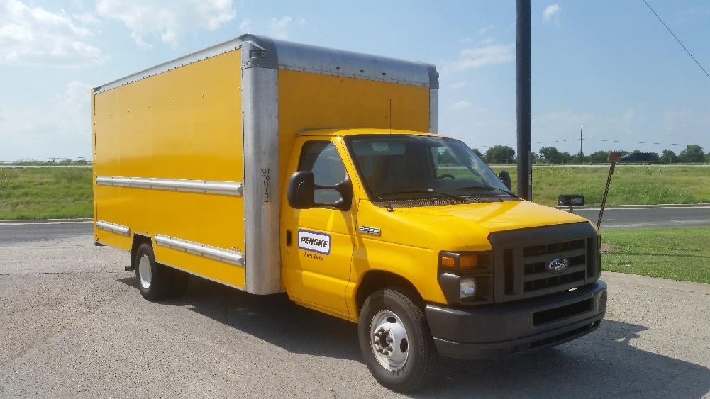 Light Duty Box Truck-Light and Medium Duty Trucks-Ford-2014-E350-WACO-TX-124,059 miles-$16,250