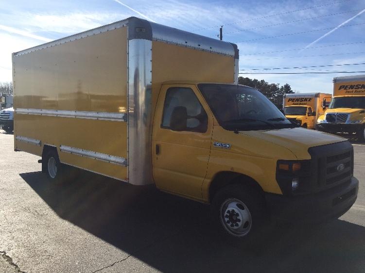 Light Duty Box Truck-Light and Medium Duty Trucks-Ford-2014-E350-SHREVEPORT-LA-110,531 miles-$17,250
