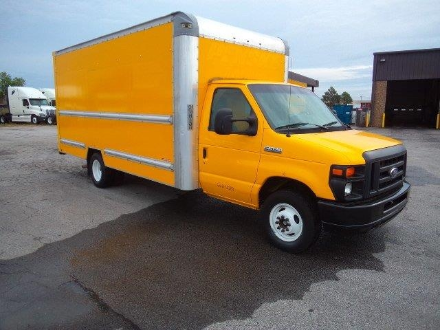 Light Duty Box Truck-Light and Medium Duty Trucks-Ford-2014-E350-FORT SMITH-AR-120,636 miles-$16,500