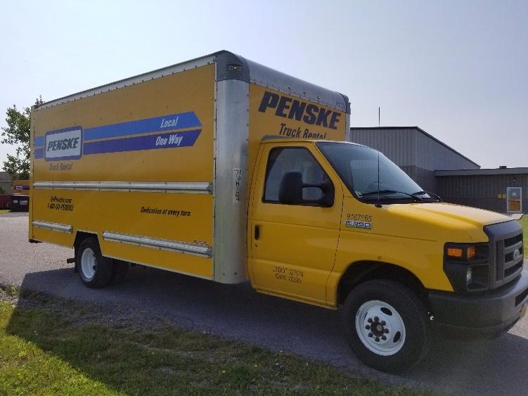 Light Duty Box Truck-Light and Medium Duty Trucks-Ford-2014-E350-EAST SYRACUSE-NY-106,086 miles-$18,500