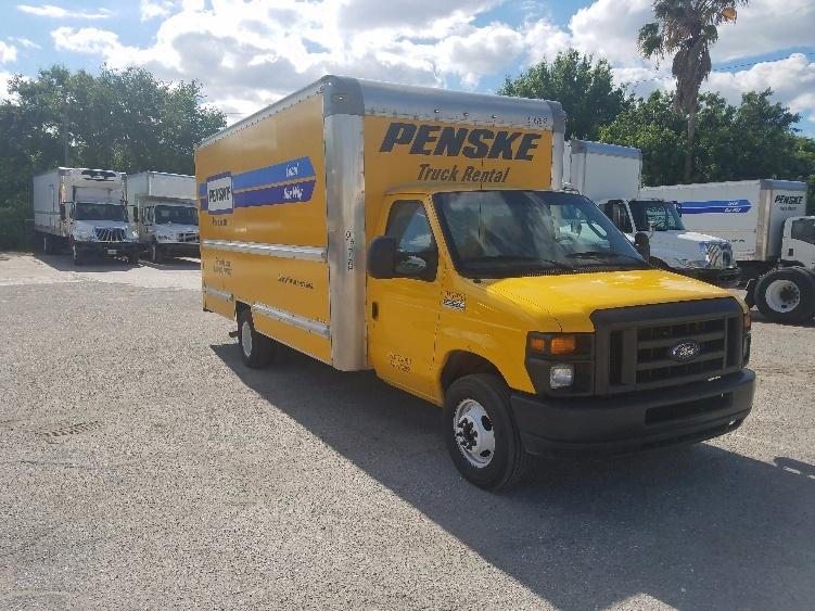 Light Duty Box Truck-Light and Medium Duty Trucks-Ford-2014-E350-TAMPA-FL-73,220 miles-$22,000