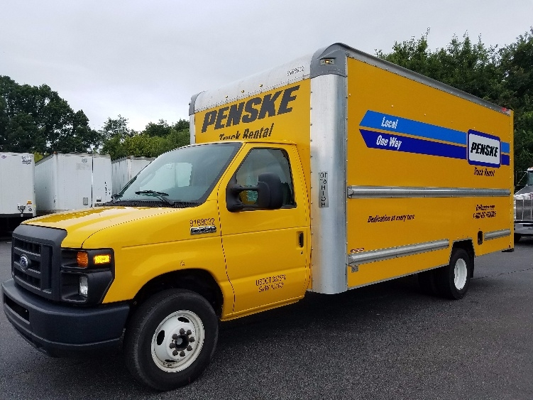Light Duty Box Truck-Light and Medium Duty Trucks-Ford-2014-E350-GREENSBORO-NC-125,416 miles-$15,750