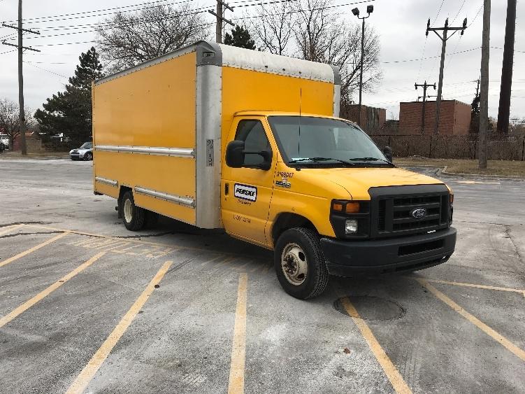 Light Duty Box Truck-Light and Medium Duty Trucks-Ford-2014-E350-LANSING-MI-86,944 miles-$19,000