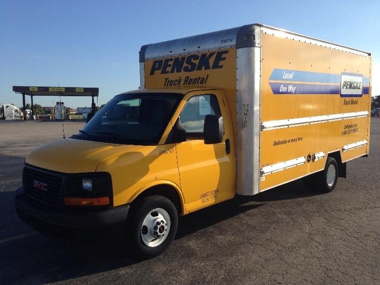 Light Duty Box Truck-Light and Medium Duty Trucks-GMC-2014-Savana G33903-CHICAGO RIDGE-IL-91,215 miles-$20,000
