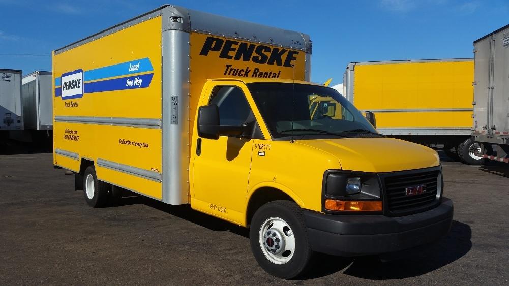 Light Duty Box Truck-Light and Medium Duty Trucks-GMC-2014-Savana G33903-TORRANCE-CA-73,808 miles-$17,000