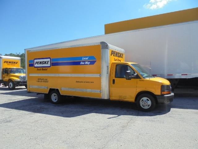 Light Duty Box Truck-Light and Medium Duty Trucks-GMC-2014-Savana G33903-JACKSONVILLE-FL-128,633 miles-$16,500