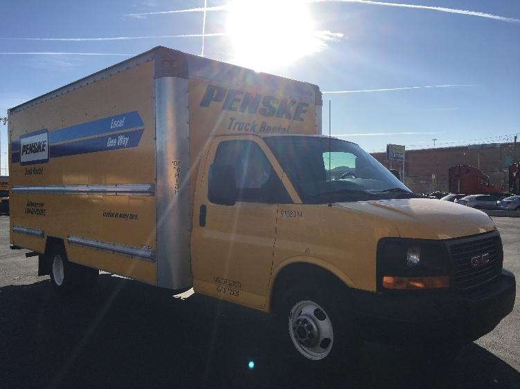 Light Duty Box Truck-Light and Medium Duty Trucks-GMC-2014-Savana G33903-LAS VEGAS-NV-119,287 miles-$16,500