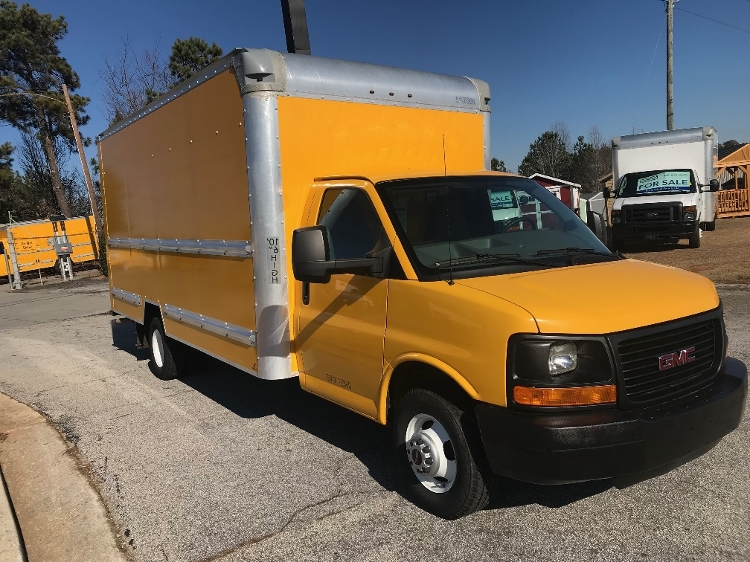 Light Duty Box Truck-Light and Medium Duty Trucks-GMC-2014-Savana G33903-CONYERS-GA-102,153 miles-$18,500