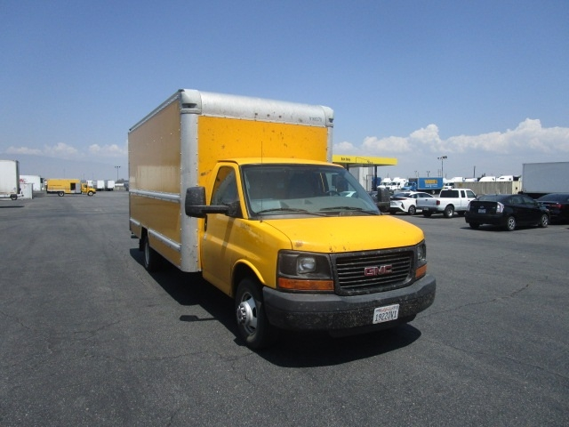 Light Duty Box Truck-Light and Medium Duty Trucks-GMC-2014-Savana G33903-TORRANCE-CA-159,961 miles-$15,500
