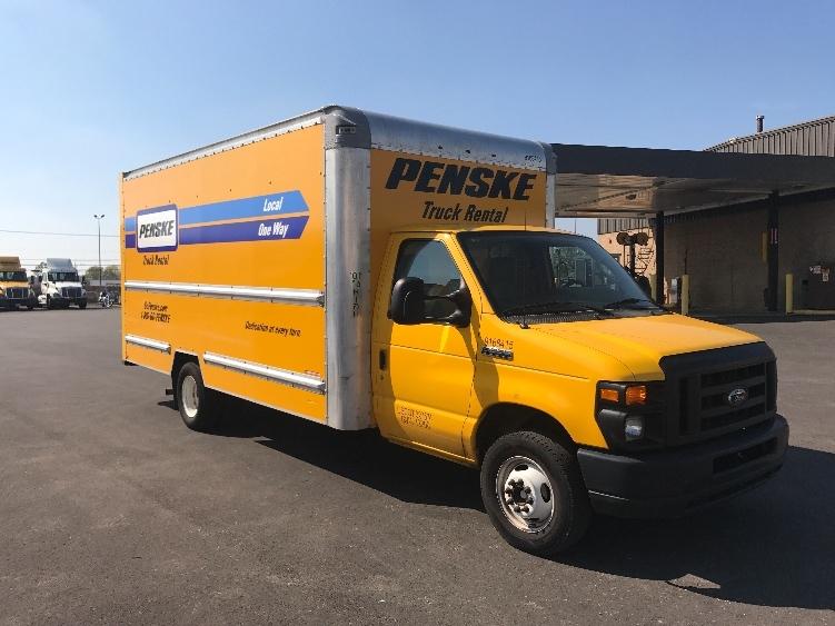 Light Duty Box Truck-Light and Medium Duty Trucks-Ford-2014-E350-CHICAGO RIDGE-IL-74,698 miles-$21,250