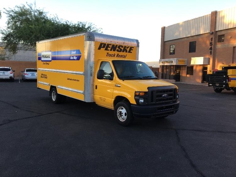Light Duty Box Truck-Light and Medium Duty Trucks-Ford-2014-E350-PHOENIX-AZ-114,370 miles-$16,750