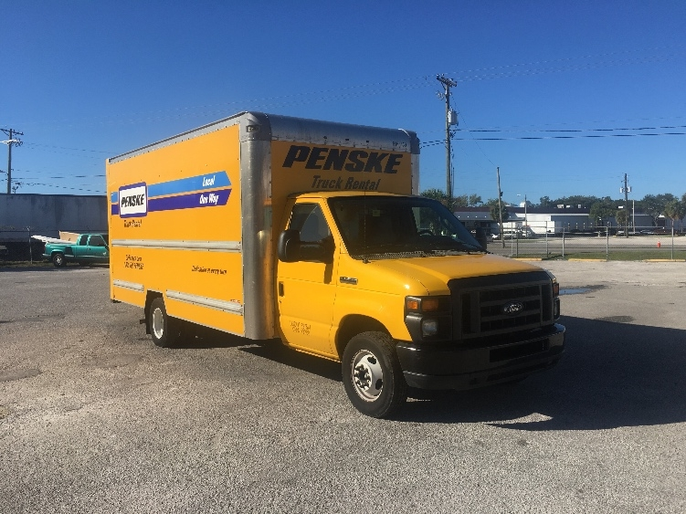 Light Duty Box Truck-Light and Medium Duty Trucks-Ford-2014-E350-SUN VALLEY-CA-123,996 miles-$16,250