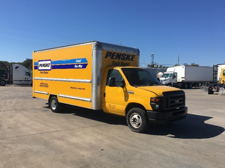 Light Duty Box Truck-Light and Medium Duty Trucks-Ford-2014-E350-FORT WORTH-TX-122,194 miles-$16,250