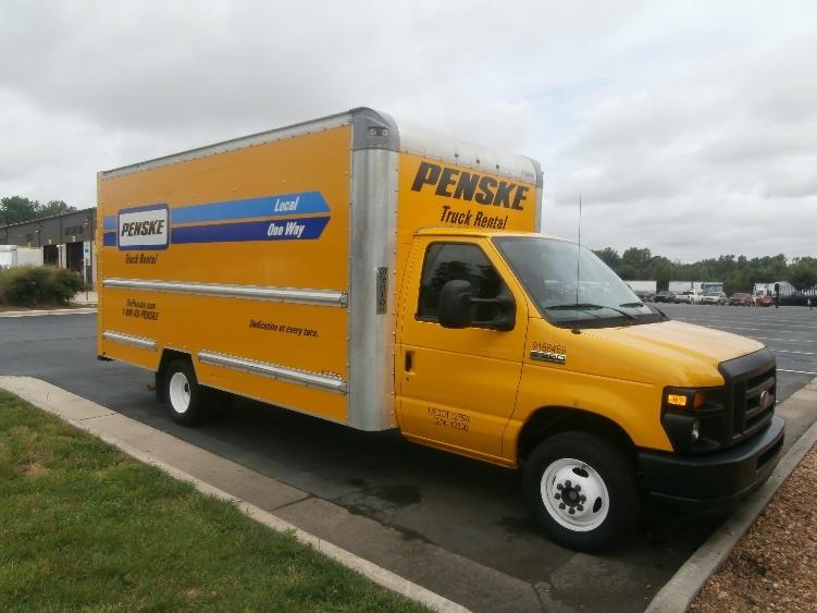 Light Duty Box Truck-Light and Medium Duty Trucks-Ford-2014-E350-GREENSBORO-NC-93,495 miles-$19,500
