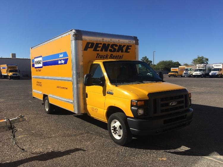 Light Duty Box Truck-Light and Medium Duty Trucks-Ford-2014-E350-TUCSON-AZ-111,423 miles-$17,250
