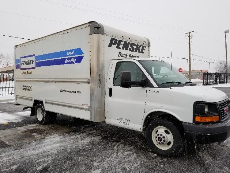Light Duty Box Truck-Light and Medium Duty Trucks-GMC-2015-Savana G33903-BEDFORD PARK-IL-58,800 miles-$22,750