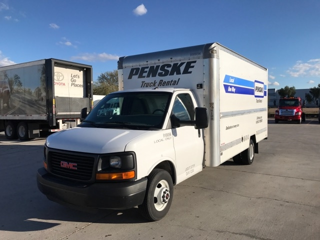 Light Duty Box Truck-Light and Medium Duty Trucks-GMC-2015-Savana G33903-PHOENIX-AZ-87,714 miles-$25,500