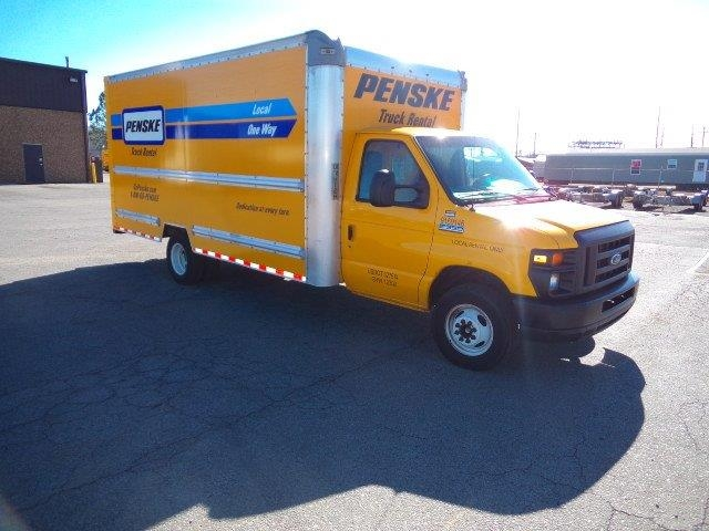 Light Duty Box Truck-Light and Medium Duty Trucks-Ford-2015-E350-LITTLE ROCK-AR-78,798 miles-$21,500