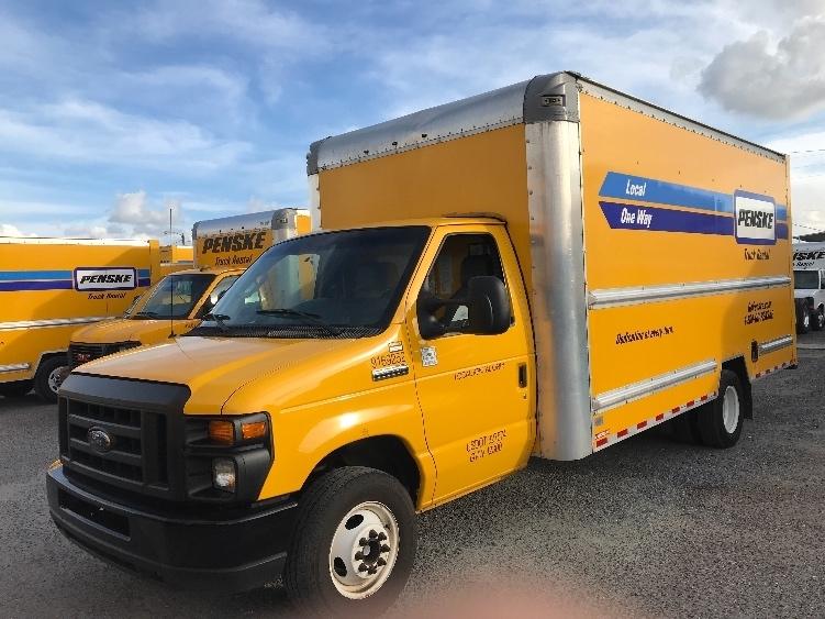 Light Duty Box Truck-Light and Medium Duty Trucks-Ford-2015-E350-OCALA-FL-70,008 miles-$23,500
