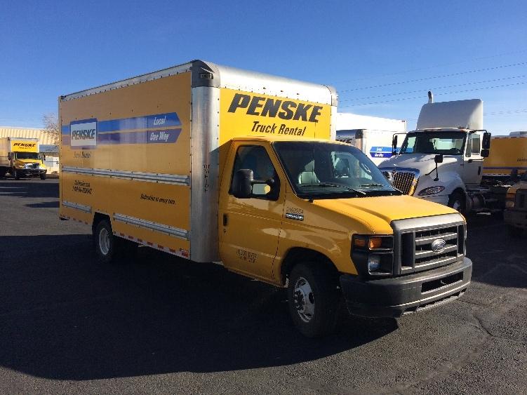Light Duty Box Truck-Light and Medium Duty Trucks-Ford-2015-E350-GRAND RAPIDS-MI-88,581 miles-$22,250