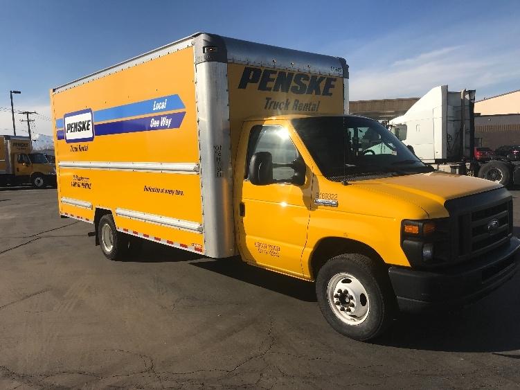 Light Duty Box Truck-Light and Medium Duty Trucks-Ford-2015-E350-BOISE-ID-117,180 miles-$12,500