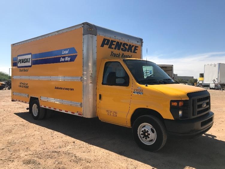 Light Duty Box Truck-Light and Medium Duty Trucks-Ford-2015-E350-PHOENIX-AZ-113,579 miles-$15,250