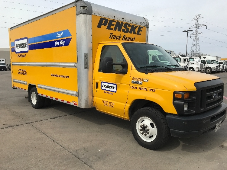Light Duty Box Truck-Light and Medium Duty Trucks-Ford-2015-E350-DALLAS-TX-71,293 miles-$22,250